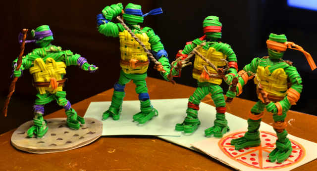 Ninja Turtle Twist Ties